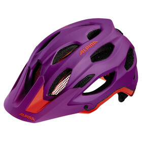 Alpina Carapax Helmet purple-neon red